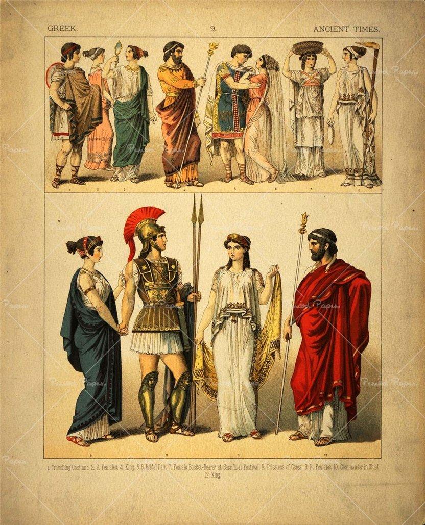 древнегреческий костюм фото - mimege.ru.